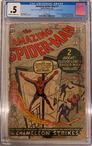 Amazing Spider-Man #1 CGC .5 Cream to Off-White Pages