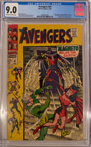 Avengers #47 CGC 9.0 Off-White to White Pages