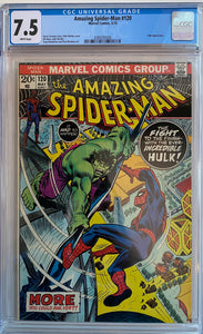 Amazing Spider-Man #120 CGC 7.5 White Pages