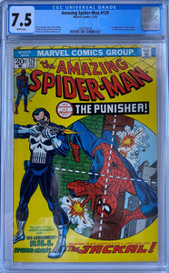 Amazing Spider-Man #129 CGC 7.5 White Pages