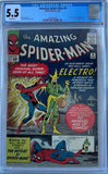 Amazing Spider-Man #9 CGC 5.5 White Pages