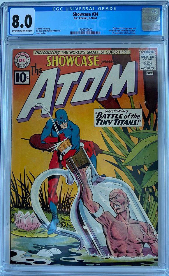 Copy of Showcase #34 CGC 8.0 Off-White to White Pages