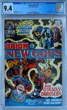 Copy of New Gods #2 CGC 9.4 Off-White to White Pages