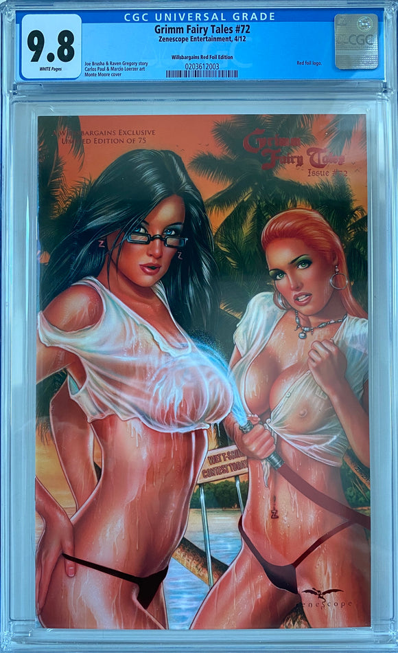 Grimm Fairy Tales #72 CGC 9.8 White Pages