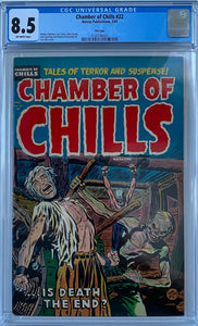Chamber of Chills #22 CGC 8.5 Off-White Pages