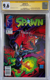 Spawn #1 CGC 9.6 White Pages ~NEWSSTAND VARIANT~