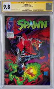 Spawn #1 CGC 9.8 White Pages