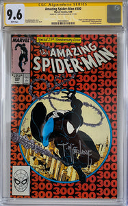 Copy of Amazing Spider-Man #300 CGC 9.6 White Pages