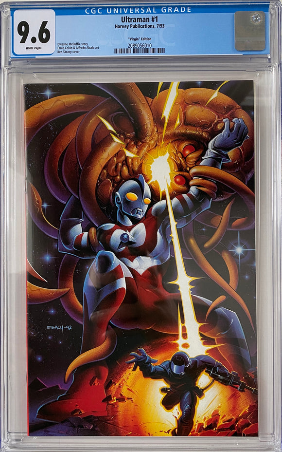Ultraman #1 CGC 9.6 White Pages ~Virgin Edition~