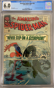 Amazing Spider-Man #29 CGC 6.0 Off-White to White Pages