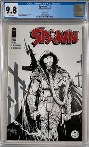 Spawn #272 CGC 9.8 White Pages ~Sketch Cover~