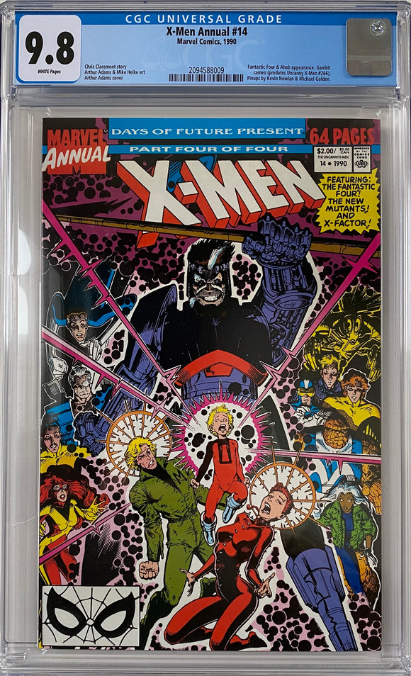 X-Men Annual #14 CGC 9.8 White Pages