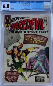 Daredevil #6 CGC 6.0 Off-White to White Pages