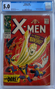 X-Men #28 CGC 5.0 Cream to Off-White Pages
