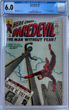 Daredevil #8 CGC 6.0 Off-White to White Pages