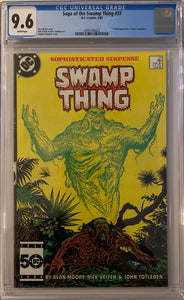 Swamp Thing #37 CGC 9.6 White Pages
