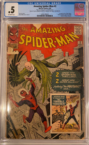 Amazing Spider-Man #2 CGC .5 Off-White Pages