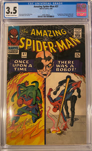 Amazing Spider-Man #37 CGC 3.5 Off-White to White Pages