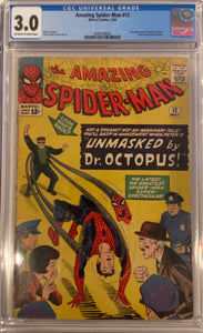 Amazing Spider-Man #12 CGC 3.0 Off-White to White Pages