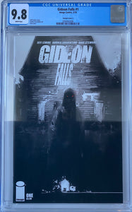 Gideon Falls #1 CGC 9.8 White Pages