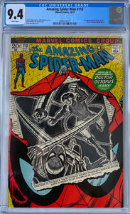 Amazing Spider-Man #113 CGC 9.4 White Pages