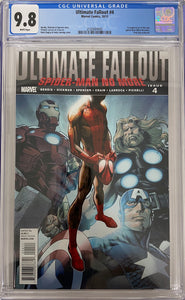 Ultimate Fallout #4 CGC 9.8 White Pages