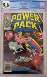 Power Pack #1 CGC 9.6 White Pages ~Canadian Price Variant~