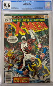 X-Men #109 CGC 9.6 White Pages