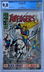 Avengers #48 CGC 9.0 White Pages