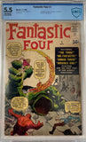 Fantastic Four #1 CBCS Off-White Pages
