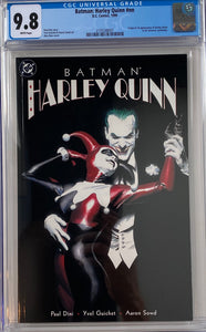 Batman: Harley Quinn #1 CGC 9.8 White Pages