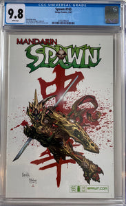 Spawn #165 CGC 9.8 White Pages
