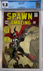 Spawn #221 CGC 9.8 White Pages