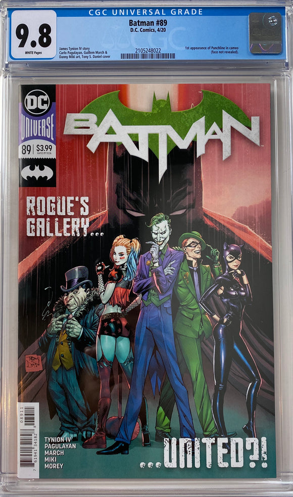 Batman #89 CGC 9.8 White Pages