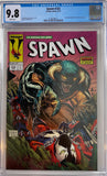Spawn #222 CGC 9.8 White Pages