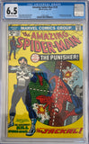 Amazing Spider-Man #129 CGC 6.5 Off-White to White Pages
