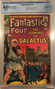 Fantastic Four #48 CBCS 8.0 White Pages