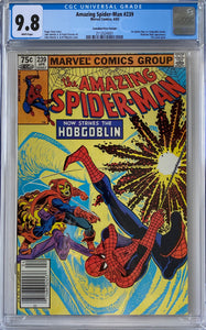 Amazing Spider-Man #239 CGC 9.8 White Pages ~CANADIAN PRICE VARIANT~