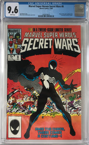 Marvel Super Heroes Secret Wars #8 CGC 9.6 White Pages