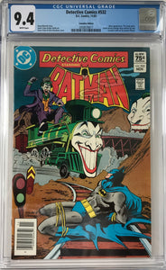 Detective Comics #532 CGC 9.4 White Pages ~CANADIAN VARIANT~