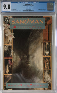 Sandman #1 CGC 9.8 White Pages