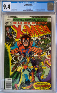 X-Men #107 CGC 9.4 White Pages