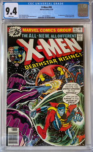 X-Men #99 CGC 9.4 White Pages