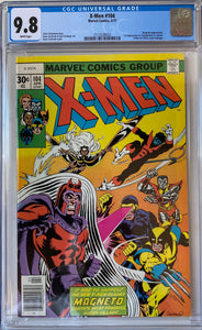 X-Men #104 CGC 9.8 White Pages