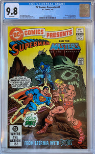 DC Comics Presents #47 CGC 9.8 White Pages