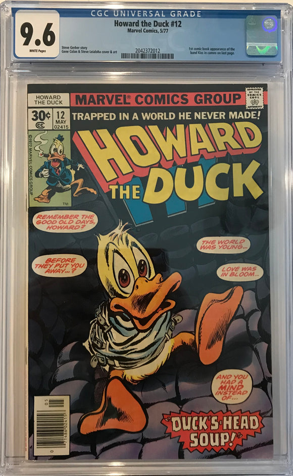 Howard the Duck #12 CGC 9.6 White Pages