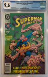 Superman: The Man of Steel #17 CGC 9.6 White Pages