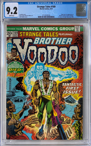 Strange Tales #169 CGC 9.2 White Pages