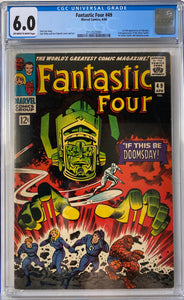 Fantastic Four #49 CGC 6.0 Off-White to White  Pages
