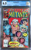 New Mutants #87 CGC 6.5 White Pages
